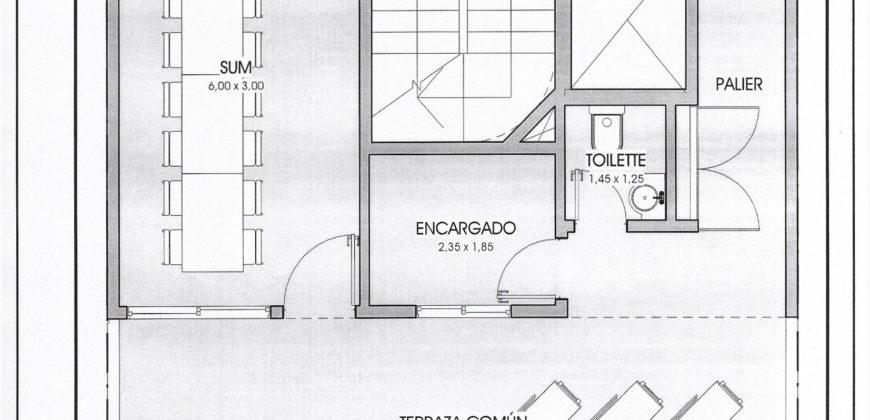 EXCELENTE SEMIPISO DE 3 AMBIENTES – TORRE DEL ESTE II