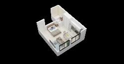 EDIFICIO T-16 – DEPARTAMENTO 1 AMBIENTE – 32 M2