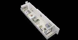 EDIFICIO T-14 – DEPARTAMENTO 2 AMBIENTES – 50 M2