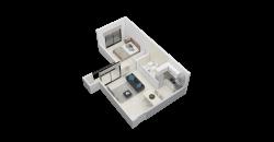 EDIFICIO T-14 – DEPARTAMENTO 2 AMBIENTES – 42 M2